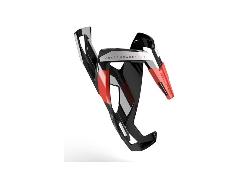 porte bidon elite custom race plus noir rouge