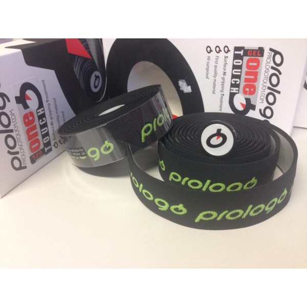 prologo gel black logo green